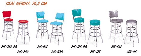 50 style barstools bel air model BS 27 28 29 30