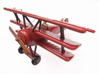 red baron small airplane