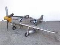 mustang airplane model 2293