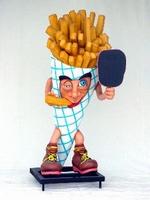 decoratie figuur friet mannetje model 1144 of 1201