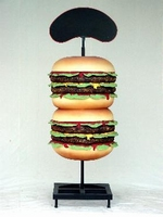 decoratie beeld hamburger model 1381 of 1382