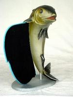 decoratie beeld vis met krijtbord model 1432 of 1454