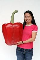 decoratie beeld paprika model 2514