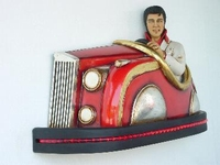 Elvis in botsauto model 2087