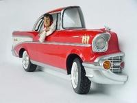 Elvis Presley in chevrolet bel air model 2092 E