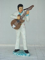 Elvis met gitaar en wit pak model 265