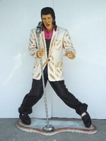 lifesize Elvis Presley als zanger model 667