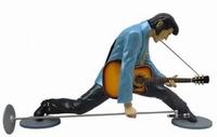 Elvis in spagaat model ST6622
