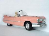 Marilyn Monroe in cadillac coupe de ville model 2093a