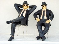 the Blues Brothers sitting model 1525