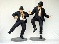 lifesize bluesbrothers set model 745