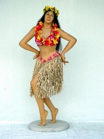 11 hula hula serveerster - danseres model 1597