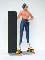 32 rollerskates lady model 2037
