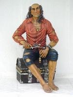 03 piraat met schatkist model 1540
