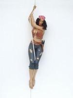 07 lady piraat aan touw model 2218