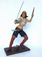 12 pirate girl model 2356