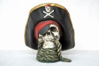 16 skull head with rope model 2436