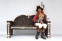 20 lady piraat zittend model 2447c