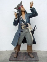 32 piraat jack sparrow model dt
