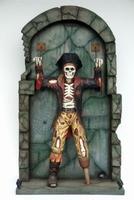 36 piraten skelet aan de muur model FC