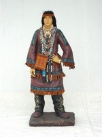 indiaanse vrouw model 1507