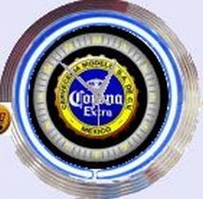 05 neonklok model corona b/y