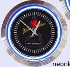 08 neonklok model johnny walker