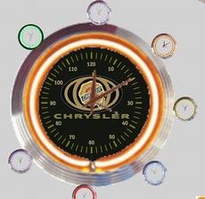 09 neonklok model chrysler