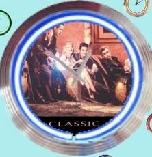 01 neonklok model classic diner