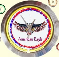 03 neonklok model american eagle