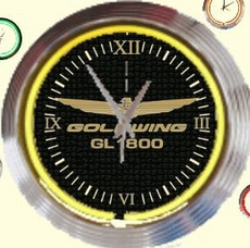 08 neonklok model goldwing
