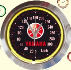 15 neonklok model yamaha