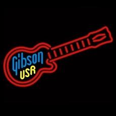 10 neon gibson usa gitaar
