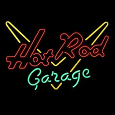 13 neon model hot rod garage