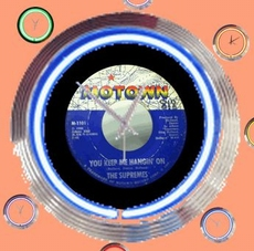 06 neonklok model Motown records