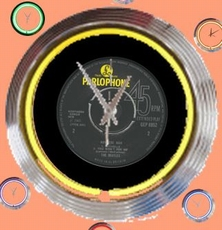07 neonklok model Parlophone records