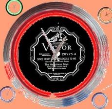 11 neonklok model Victor records
