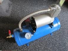 compressor met drukvat 12v kies uitvoering