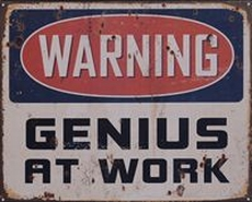 21 metal plate 375 genius at work