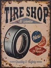 25 metal plate 395 tyre shop