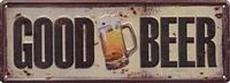 29 metal plate 411 good beer