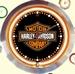 11 neonklok model harley davidson