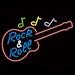 17 neon model rock & roll gitaar