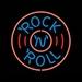 18 neon rock & roll round