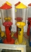 2 staande gumball machines