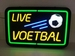 live voetbal neonlook led bord
